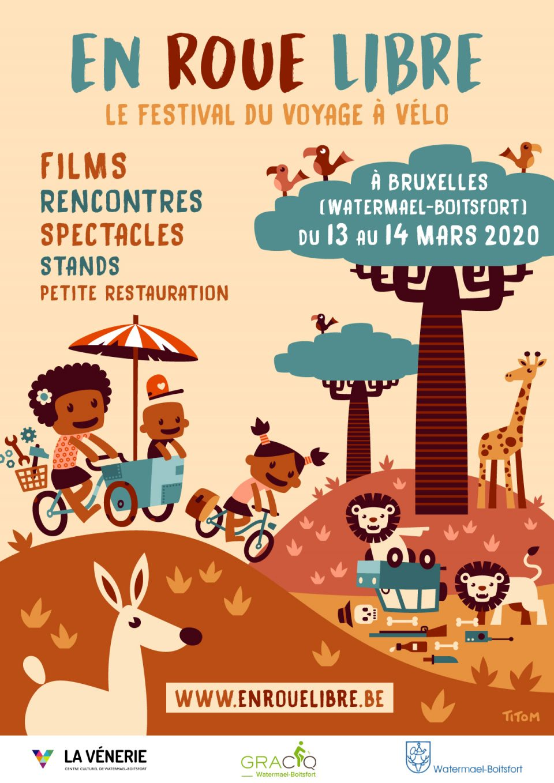 En roue libre, le festival du voyage à vélo : édition 2020
