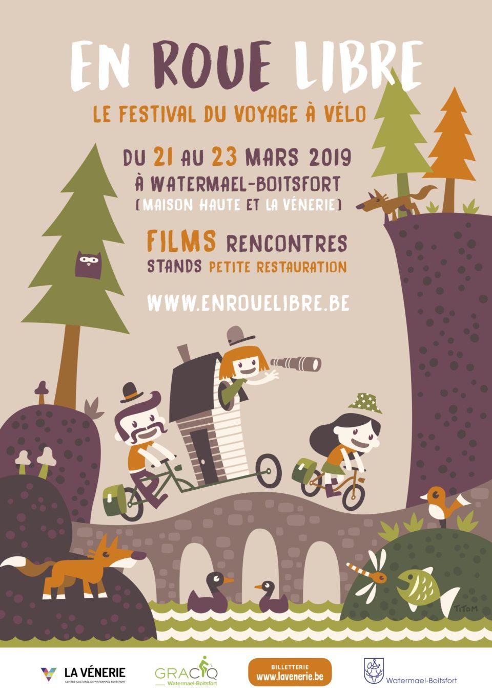 En roue libre, le festival du voyage à vélo : édition 2019