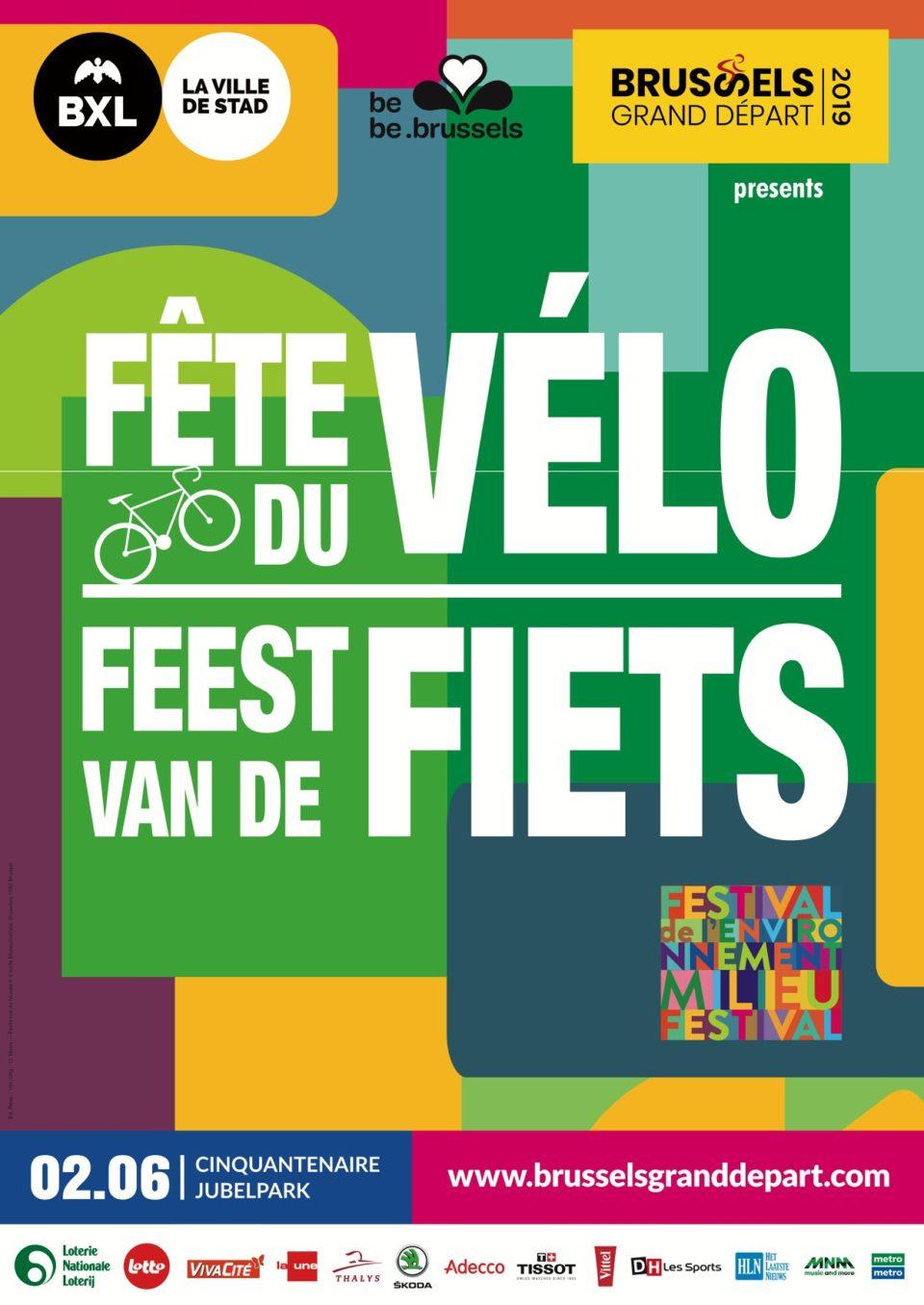 En roue libre à la Fête du vélo