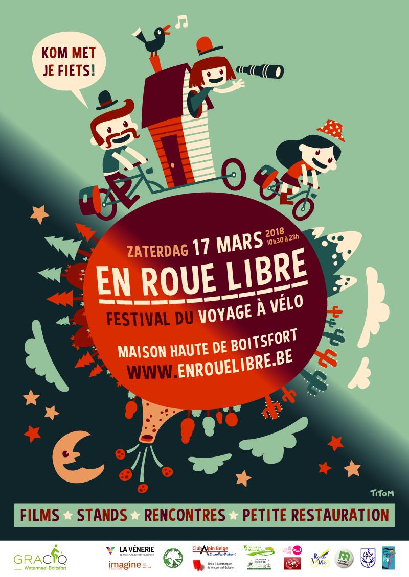 En roue libre, le festival du voyage à vélo, clap première : édition 2018